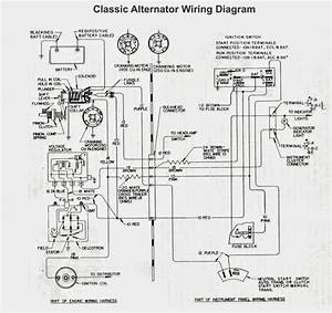 Old Car Alternator Wiring Diagram