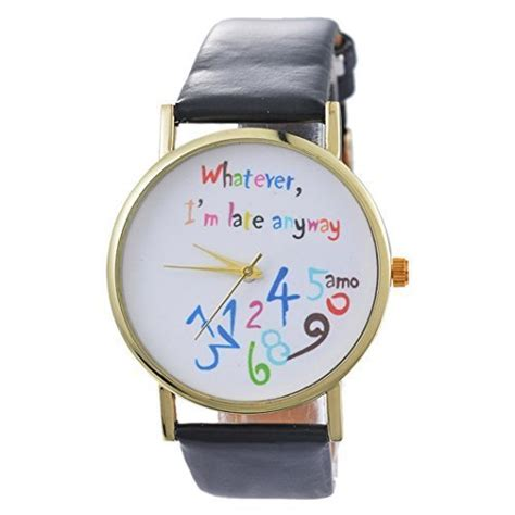 Whatever I M Late Anyway Uhr by Montre Whatever I M Late Anyway Homme