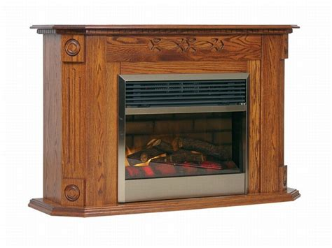electric fireplace  mantel  dutchcrafters