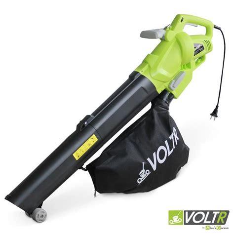 aspirateur souffleur et broyeur 224 feuilles 2600w voltr outil 233 lectrique avec variateur de