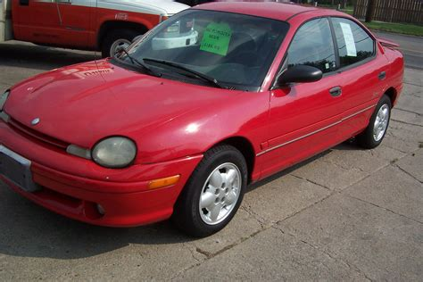 Chrysler Neon by 1997 Chrysler Neon Photos Informations Articles