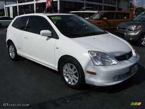 Honda Civic 2002 : 2002 taffeta white honda civic si hatchback 43557242 car color galleries ~ Dallasstarsshop.com Idées de Décoration