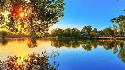 Nature 1080p River Trees Windows