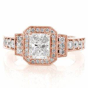 Vintage antique engagement rings in kansas city for Wedding rings kansas city