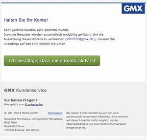 Gmx Rechnung : gmx phishing e mail deine gr karte von mathias ist betrug ~ Themetempest.com Abrechnung