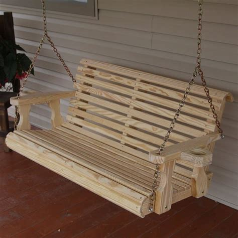 Porch Swing Bench by Unwind In Your Yard With A Diy Wood Porch Swing With Cup
