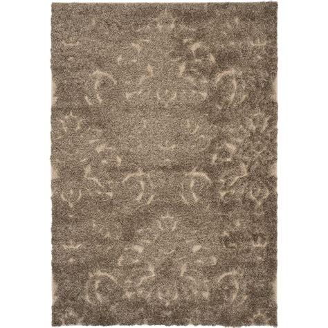 beige shag rug safavieh florida shag smoke beige 8 ft x 10 ft area rug