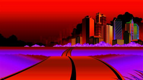 red city wallpaper gallery