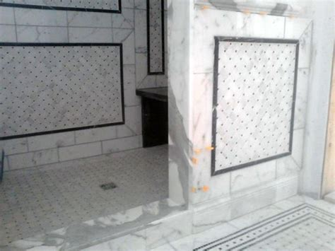 mosaique marbre salle de bain pose de c 233 ramique mosa 239 que carrelage laurentides qu 233 bec la cl 233 des sols