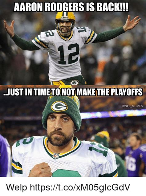 Aaron Rodgers Memes - 25 best memes about welp welp memes