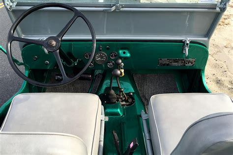 willys jeep interior 1946 willys cj2a jeep 195047