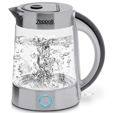 electric kettle kettles boil water tea glass coffee looking