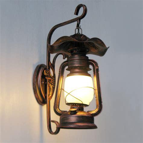 retro nostalgia american country antique shop lighting