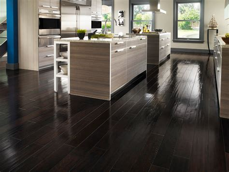 modern kitchen decor with awesome stained laminate