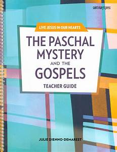 Live Jesus In Our Hearts  The Paschal Mystery And The