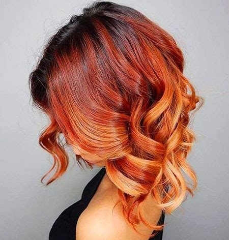 short red hair color ideas