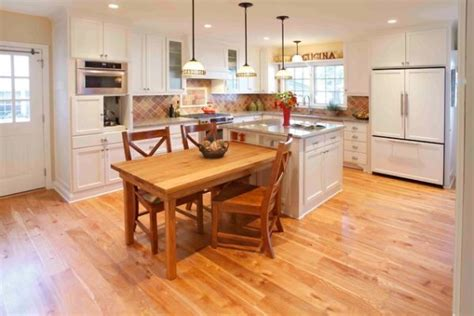 Kitchen Bar Extender by 30 Kitchen Islands With Tables A Simple But Clever
