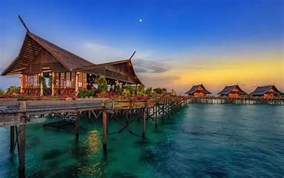 4k Hainan Bungalow Island Hotel China Water