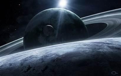 Saturn Star Wallpapers Deviantart Planetary Sci Fi