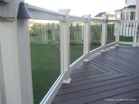 deck patio maryland decks backyard deck railings glass railing deck