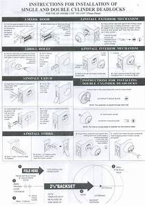 kwikset deadbolt template image collections template With kwikset deadbolt template