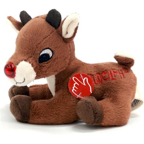 From a vcr recording circa 1989, complete broadcast of the 1964 rudolph with burl ives including commercials. 5-inch Musical Light Up Rudolph Red-nosed Reindeer ...