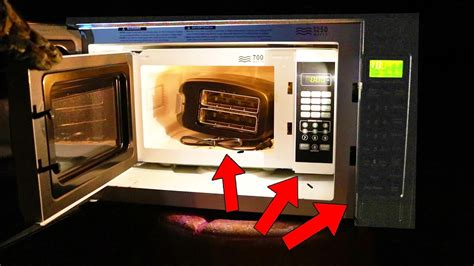 toaster on top of microwave microwaving a microwave microwaving a toaster