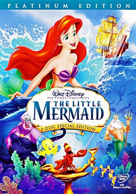mermaid  disc platinum edition disney dvd cover walt disney characters photo