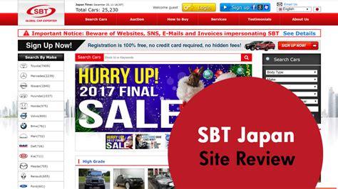 sbt japan  car site review japancarreviewscom