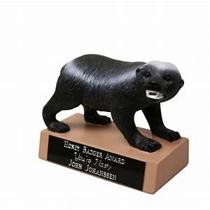 Crazy Nasty Honey Badger Trophy