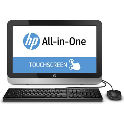 hp bureau hp all in one 22 2124nf pc de bureau hp sur ldlc