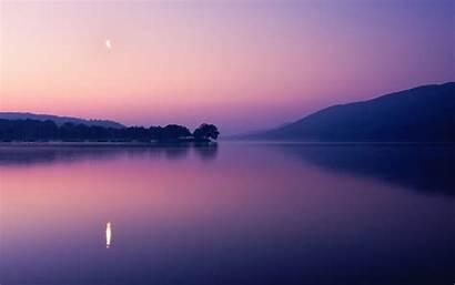 Reflection Water Sunset Landscape Dusk Lake Nature