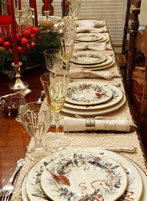 decoration de table de noel pour une atmosphere magique