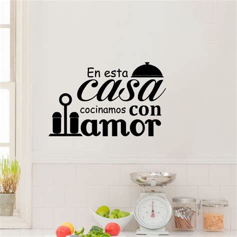 stickers citations cuisine sticker citation cuisine en esta casa stickers citations