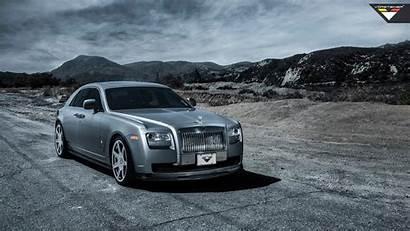 Royce Rolls Ghost Vorsteiner Silver 1080 Customised