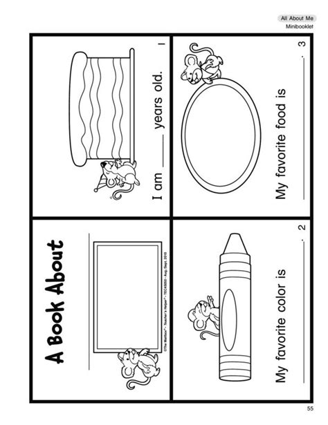 free printable all about me book for preschool 1000 ideas about all about me booklet on all 396