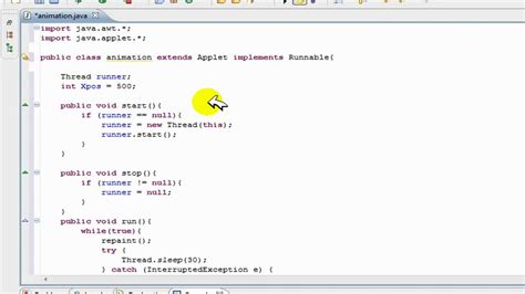 Java Decorator Pattern Reader by Basic Animation In Java Tutorial Side Scrolling Text
