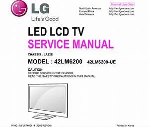 Lg42lm6200 Service Manual