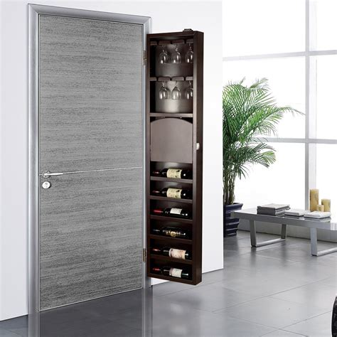 wine rack storage cabinet cabidor behind the door wine storage cabinet the green