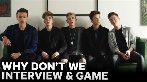 """why Don't We"" Is Something Different Youtube"