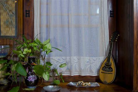 designers guide  lace curtains restoration design