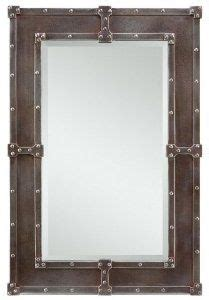 diy industrial bathroom mirror 1000 images about studs and rivets on studs