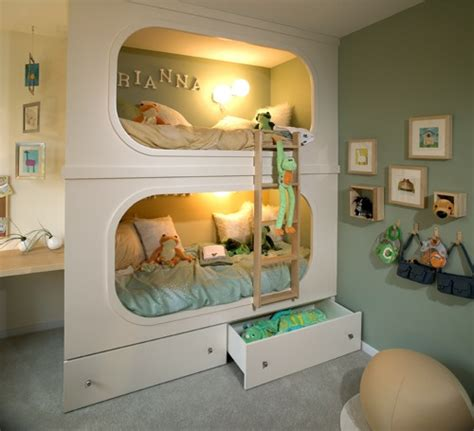 cool custom beds two is better than one 10 cool kids bunk beds