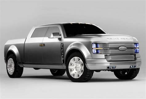 truck rewind ford super chief concept a modern luxury super duty from a decade ago the fast