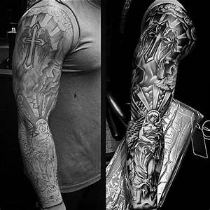 The 25 Best Religious Tattoo Sleeves Ideas On Pinterest Jesus Tattoo
