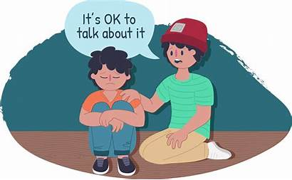 Clipart Abuse Talk Clip Being Feelings Abused