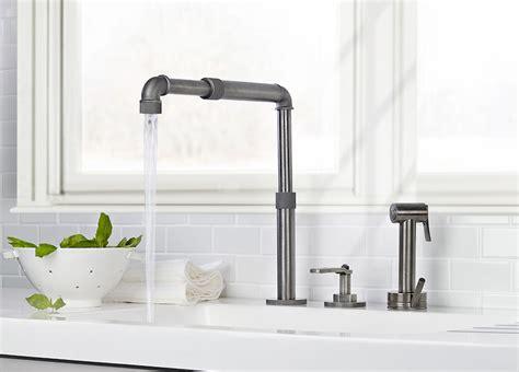 robinet industriel cuisine cuisine style industriel idées de déco meubles et