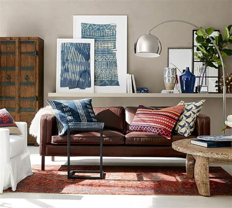 Pottery Barn Inspired Living Room by Go Boho With Pottery Barn Jillian Lare Des Moines