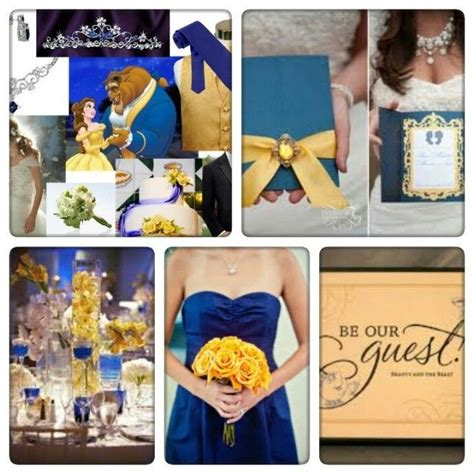 Beauty and the Beast themed wedding If I Were a Wedding