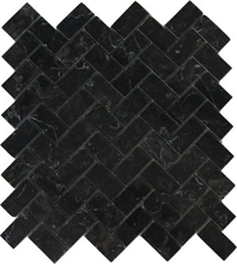 black and white herringbone tile nero marquina black marble 1x2 quot herringbone mosaic floor and wall tile